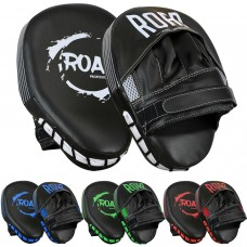 ROAR New Focus Mitts Pads Curved Muay Thai Kick Shields Pad
