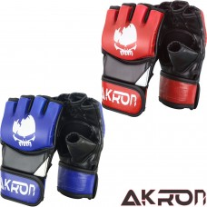 AKRON Boxing MMA Gloves UFC Grappling Training Punching Fighting Mitts Muay Thai