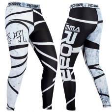 ROAR MMA Compression Tights Fighting Grappling Spats