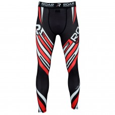 ROAR Legging Mens MMA BJJ Spats Running Tights S M L XL