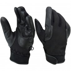 ROAR Neoprene Touch Screen Motorcycle Gloves Mens Water Resistant Leather Palm