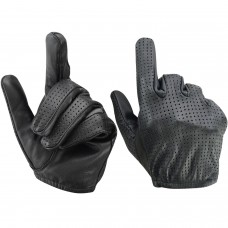 ROAR Men's Air Pro Driving Motorcycle Gloves Perforated Handback Police Gloves