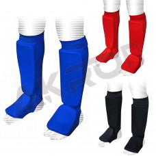 ROAR Shin Instep Guards MMA Kickboxing Muay Thai Foot Leg Support Protector Pad