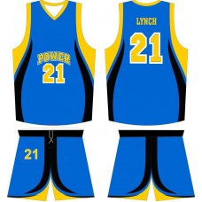 ROAR 20 Basketball Uniform Sublimation Short & Shirt Wholesale Adult Youth Size