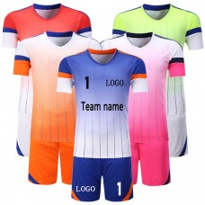 ROAR 12 Soccer Sports Kits Men's Team Uniform Set Shirts & Shorts Adult Sizes
