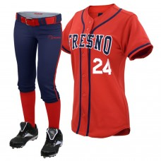 ROAR 10 Sublimated Softball Uniform Team Set Shirts/Pants With Free Name,Number