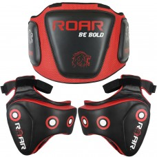 Roar Boxing Belly & MMA Thigh Pad Set UFC Training Muay Thai Leg Protector with Rib Shield