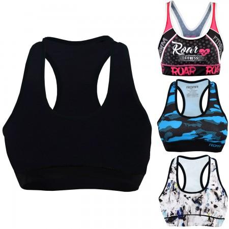 Roar Sports Bras for Women - High Impact Workout Gym Activewear MMA Bra