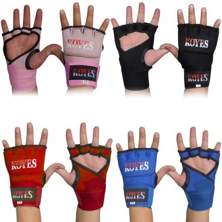 ROAR Gel Inner Gloves With Wrist Hand Wrap Padded Foam Boxing Muay Thai Bandage