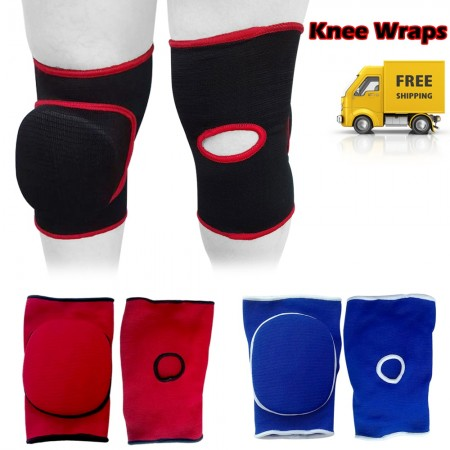 ROAR MMA Knee Pads Caps Protector Brace Support Volleyball Guards Muay Thai