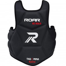 Roar Boxing Chest Guard Gel Padding MMA Body Protector Rib Shield Muay Thai Kickboxing Armour
