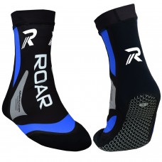 ROAR MMA Training Gym Socks Boxing Foot Ankle Brace Supports Guard Pad Red