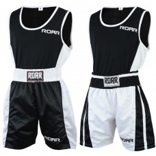ROAR Boxing Shorts MMA Gym Vest Sleeveless Top