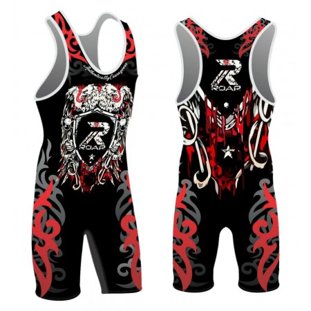 ROAR Wrestling Eagle Singlet Heavy Weight New Sublimation Design Ringen Trikot
