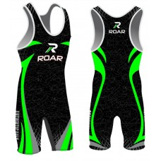 ROAR Professional Athletic Wrestling New Singlet Sublimation Design S,M,L,XL